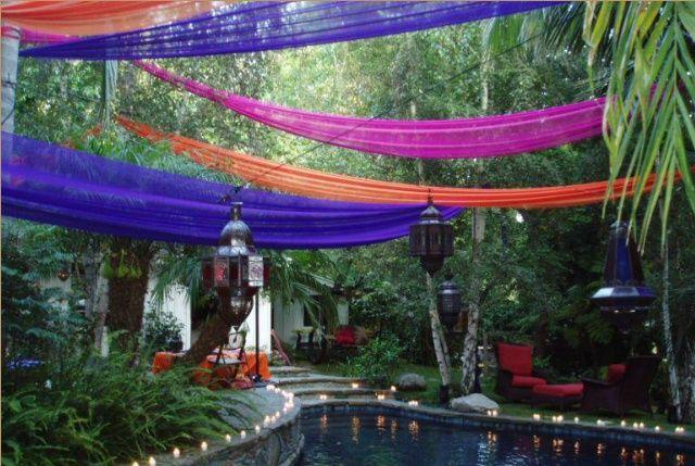 outdoor moroccan wedding ideas   Moroccan wedding   operation colour