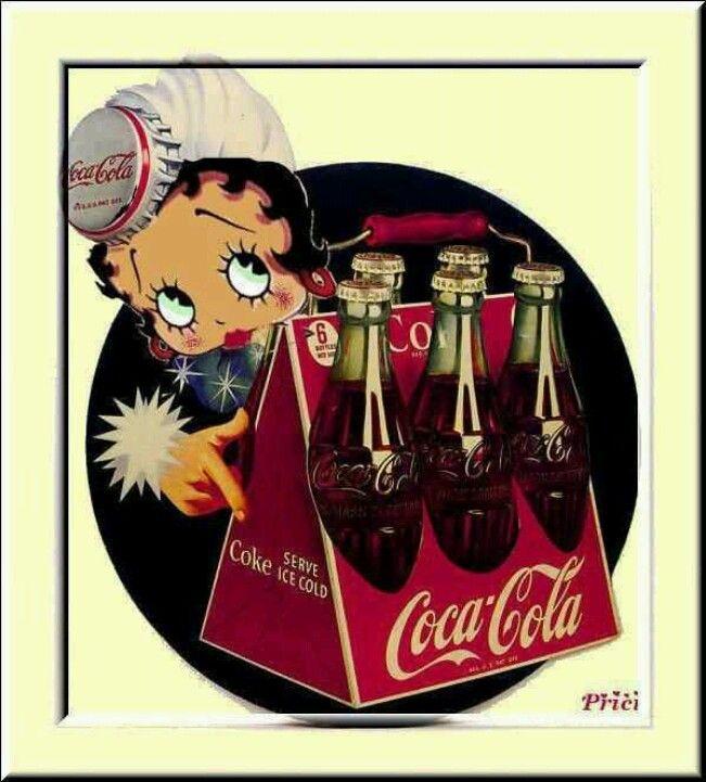 *COCA-COLA ~ Betty Boop