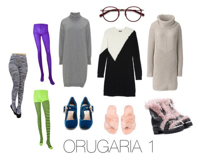 """""""ORUGARIA 1"""" by fsh-style on Polyvore featuring moda, Lands' End, Vince Camuto, Miu Miu, Alexander McQueen y EyeBuyDirect.com"""