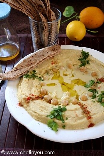 Hummus Bi Tahini (Chickpeas Hummus) - One of my most favorite food there is - Hummus. I can eat it all day - Breakfast, Lunch, Snack or Dinner. In as many ways as possible. Its so easy to put together and versatile enough to incorporate your needs. Its a classic for a very good reason - its so worth it.