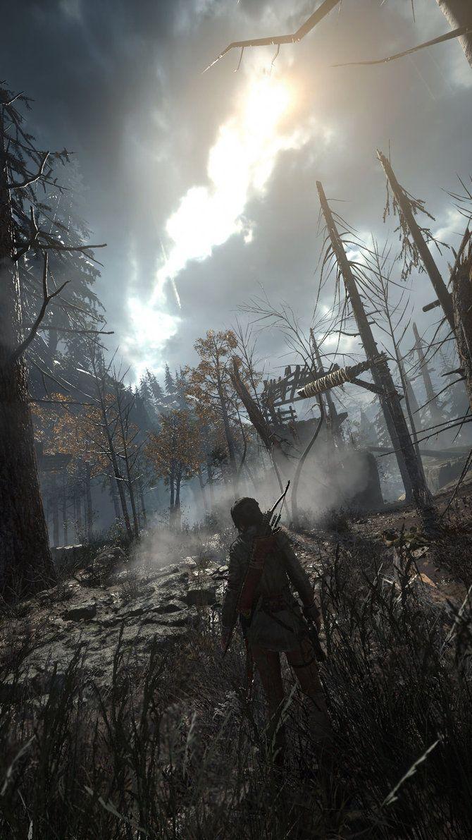 Rise of the Tomb Raider: Grim Woods by Nitromonteiro
