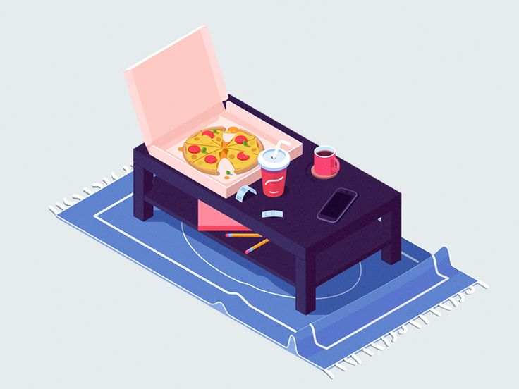Pizza by Igor Kozak for Rocketboy Studio