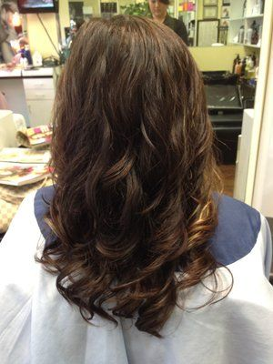 25+ best ideas about Digital perm on Pinterest | Loose curl perm, Body wave perm and Perm curls