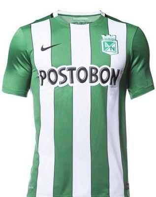 camisetas de futbol online 2018: Camiseta Atletico Nacional 2018