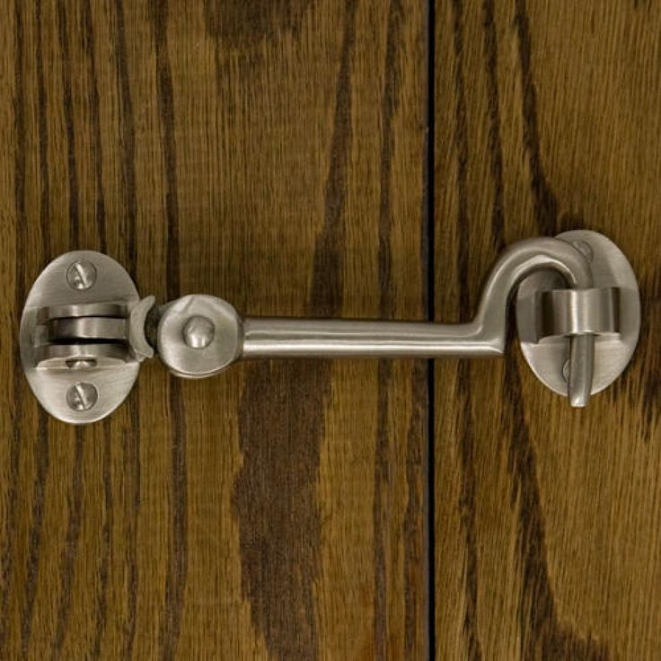 Solid Brass Cabin Door Hook Latch Door Latches And Hasps