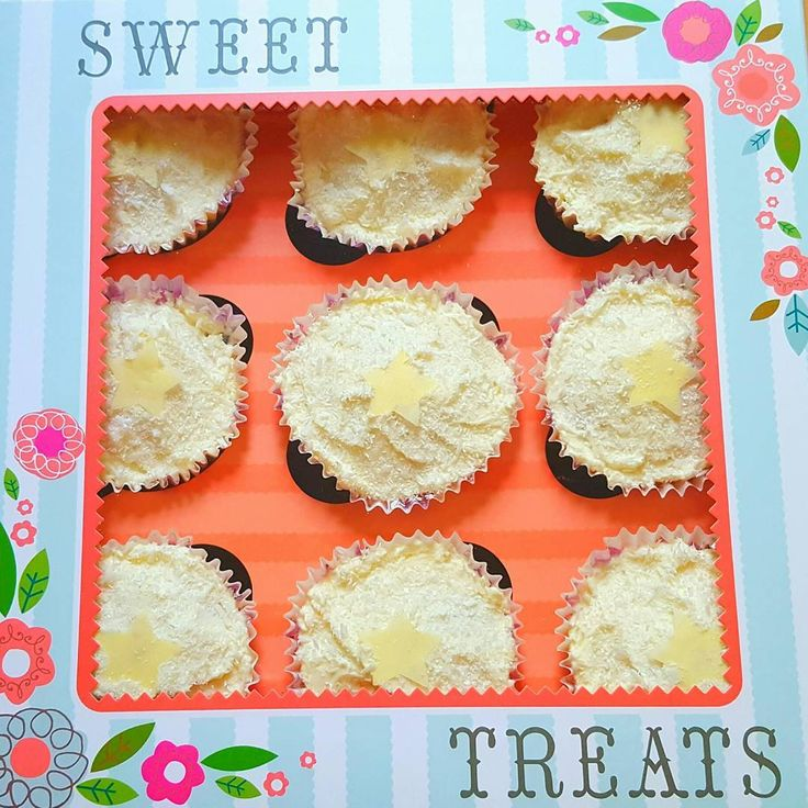 Lovely light, fluffy, fruity Coconut and Lemon Cupcakes: http://thefatfoodie.co.uk/2016/10/12/coconut-and-lemon-cupcakes/