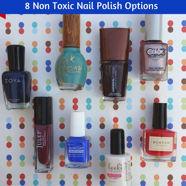 8 Non Toxic Nail Polish Brands To Try  Add SpaRitual to the list…my personal favorite and absolutely hate Suncoat. I can't speak of the others much other than Zoya and Mineral Fusion which are just ok in my opinion.