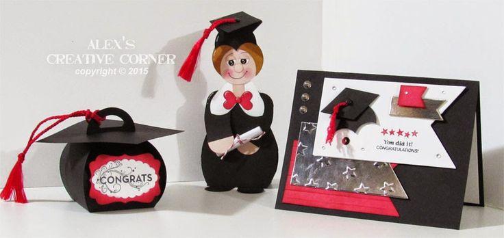 Rincón Creativo de Alex: caja de regalo de graduación