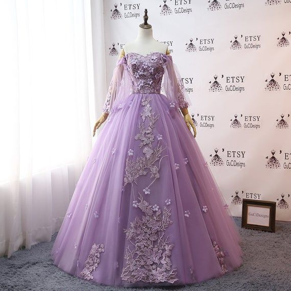 Custom Women Light Pink Prom Dress Ball Gown Long Quinceanera Dress Lace Butterfly Masquerade Evening Dress Wedding Bride Gown Illusion Back