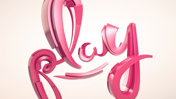 Cinema 4D – How to Create a Graffiti Style Logo Tutorial