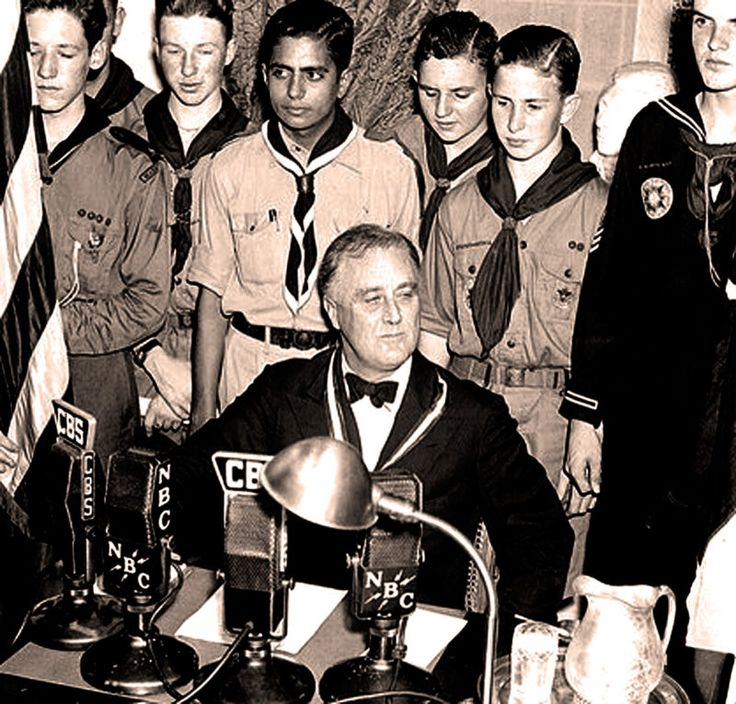 FDR Addresses The Boy Scouts Of America 1937 – Presidents Being Presidential – President Roosevelt - Addresses The Boy Scouts Of America - 27th Annual Jamboree - February 8, 1937 - Gordon Skene Sound Collection - A reminder of past Presidents and The Boy Scouts of America - this one, FDR broadcasts an invitation to the 27th annual Scout Jamboree in... #americana #boyscouts #donaldtrump