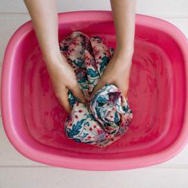 How to Remove Color That Bled During Laundry