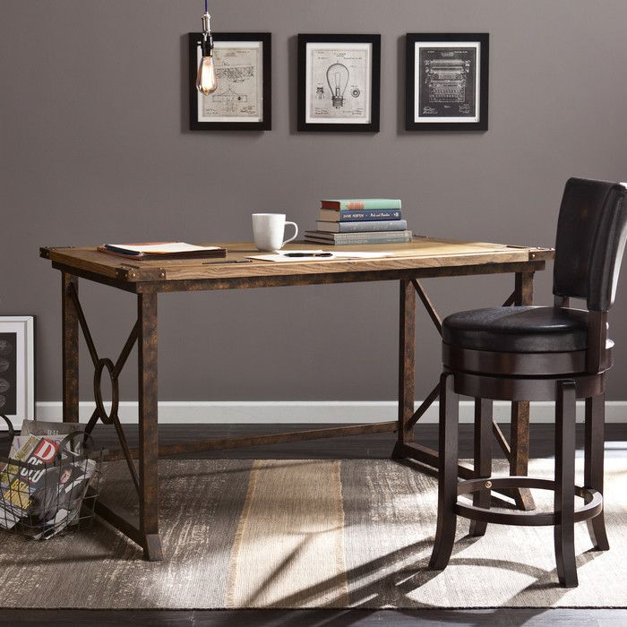 Youu0027ll Love The Glenview Wood Drafting Table At Wayfair   Great Deals On All