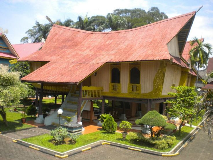 sundanese traditional roof - Google Search | House styles ...
