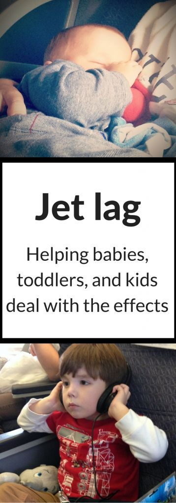 How to help the kids cope with jet lag