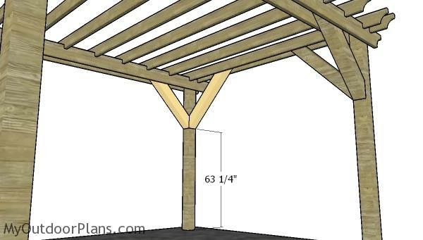 10x12 Pergola Plans Myoutdoorplans Free Woodworking Plans And Projects Diy Shed Wooden Playhouse Pergola Bbq In 2020 Pergola Plans Pergola Building A Pergola