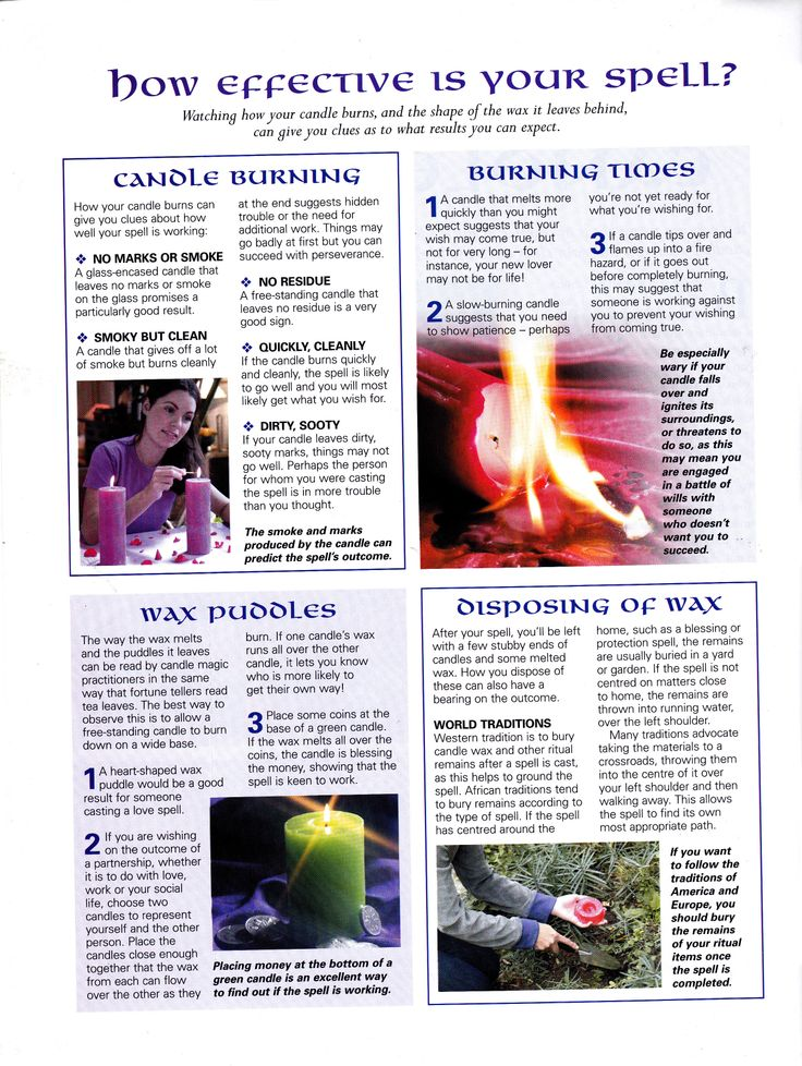 How effective is your candle spell - Pinned by The Mystic's Emporium on Etsy