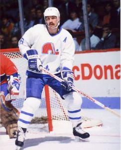 Michel Goulet atuou pelo Quebec Nordiques entre 1979 á 1990.