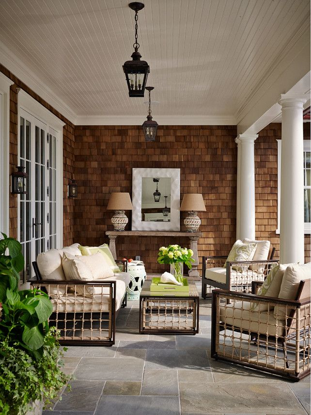Outdoor furniture. New Outdoor Furniture Ideas. The outdoor furniture is by Summer Classics. #OutdoorFurniture  Andrew Howard Interior Design.