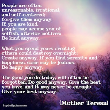 mother theresa virtuous person Short speech for kids about mother teresa the service of lepers and poorest of poor people of the world mother teresa's real name for her virtuous.