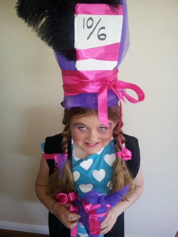 Mad Hatter Book Week Girls Costume