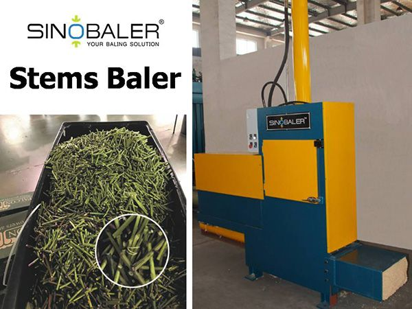 Stems Baler Machine Flower Stems Baling Press Machine