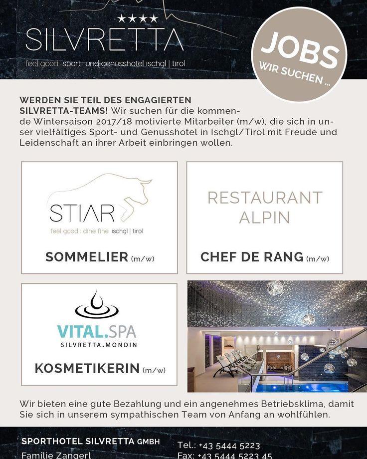 #found #your #top #job  #ischgl #sporthotelsilvrettaischgl #silvretta #mountain #skiing #welcome