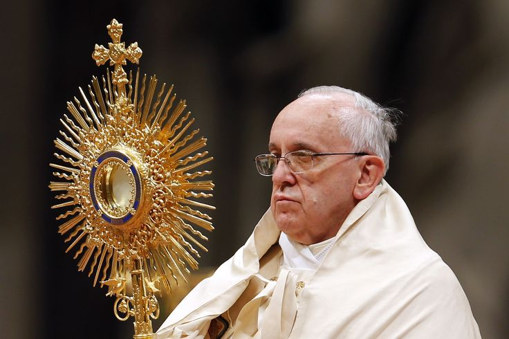 Monstrance Pope Francis | www.pixshark.com - Images ...