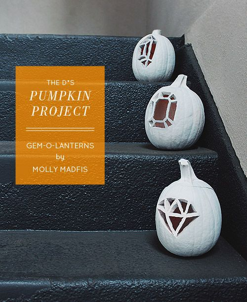 The D*S Pumpkin Project: Gem-O-Lanterns by Molly Madfis - Design*Sponge
