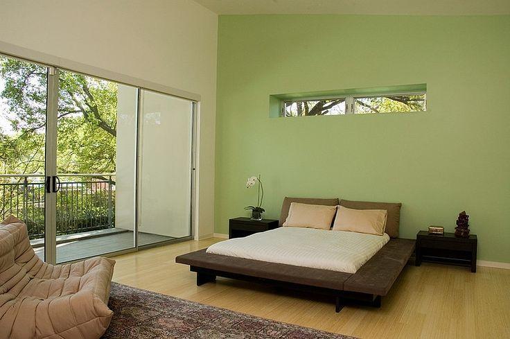 Bedroom green walls apartment ideas pinterest for Bedroom designs green