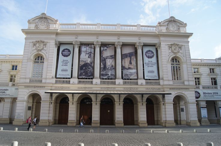 CHILE. TEATRO MUNICIPAL DE SANTIAGO. 1857