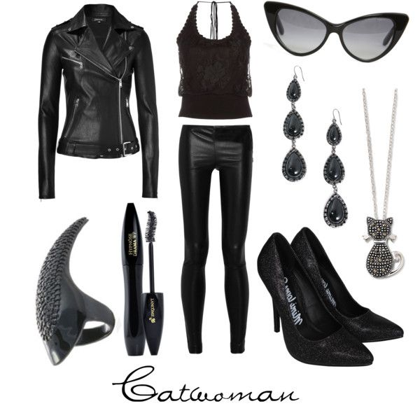 """Catwoman"" by character-inspired-style on Polyvore"
