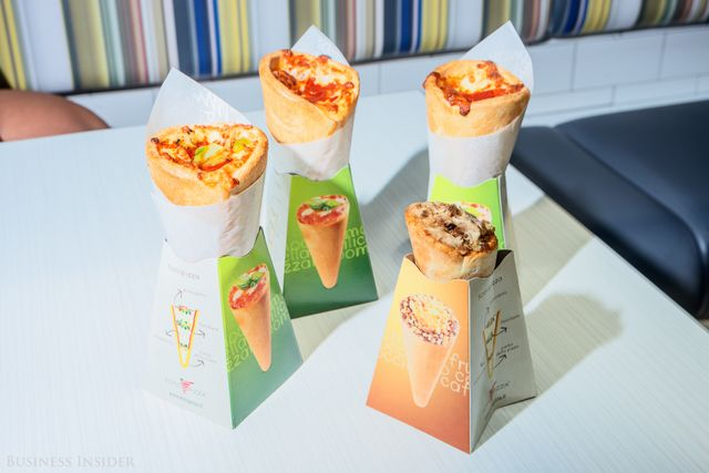 The pizza slice is a time-honored tradition, but this company is looking to shake things up a bit with a new shape: the cone.