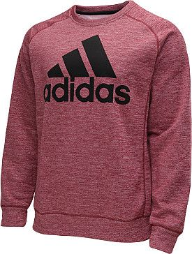 Chilly workout conditions, or laid back weekends watching sports call for this Adidas men's Team Issue crew sweatshirt, which features heat-trapping CLIMAWARM technology. #GiftOfSport