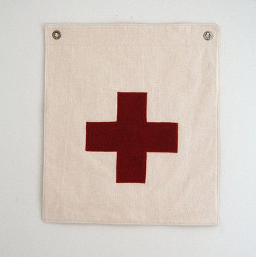 Cross Flag by Secret Holiday & Co.