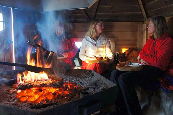 Storytelling by the fire. In the stillness of the evening, listen to exciting stories of people from a country deep in tradition. http://www.laplandvuollerim.se/en/activities/all-year-round/storytelling-by-the-fire/