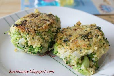 Kuchnia Izy: Placki brokułowe z kaszą jaglaną na diecie