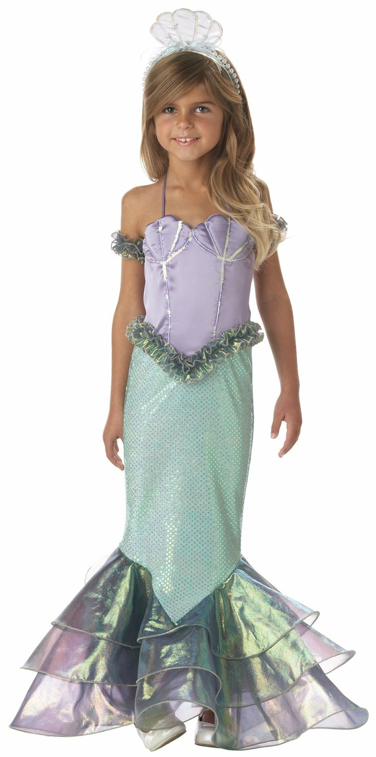 95 best Little Girl Mermaid Costumes and Parties images on Pinterest ...