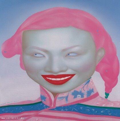 중국 현대미술 Feng zhengjie