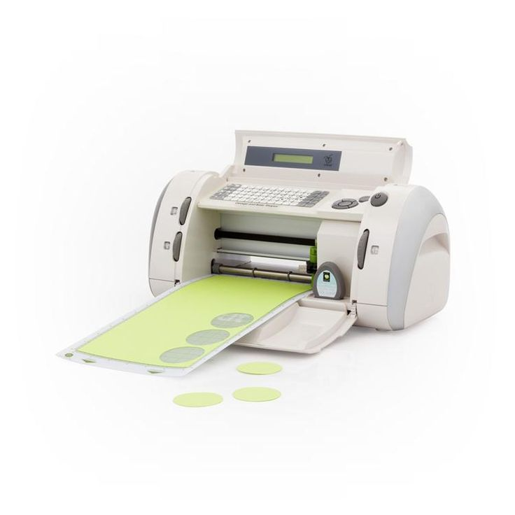 Cricut® Personal Electronic Cutter Machine..with a usb printer cable and the Cricut soft ware you can hook this baby to the computer..EASY and fun...die cutting...