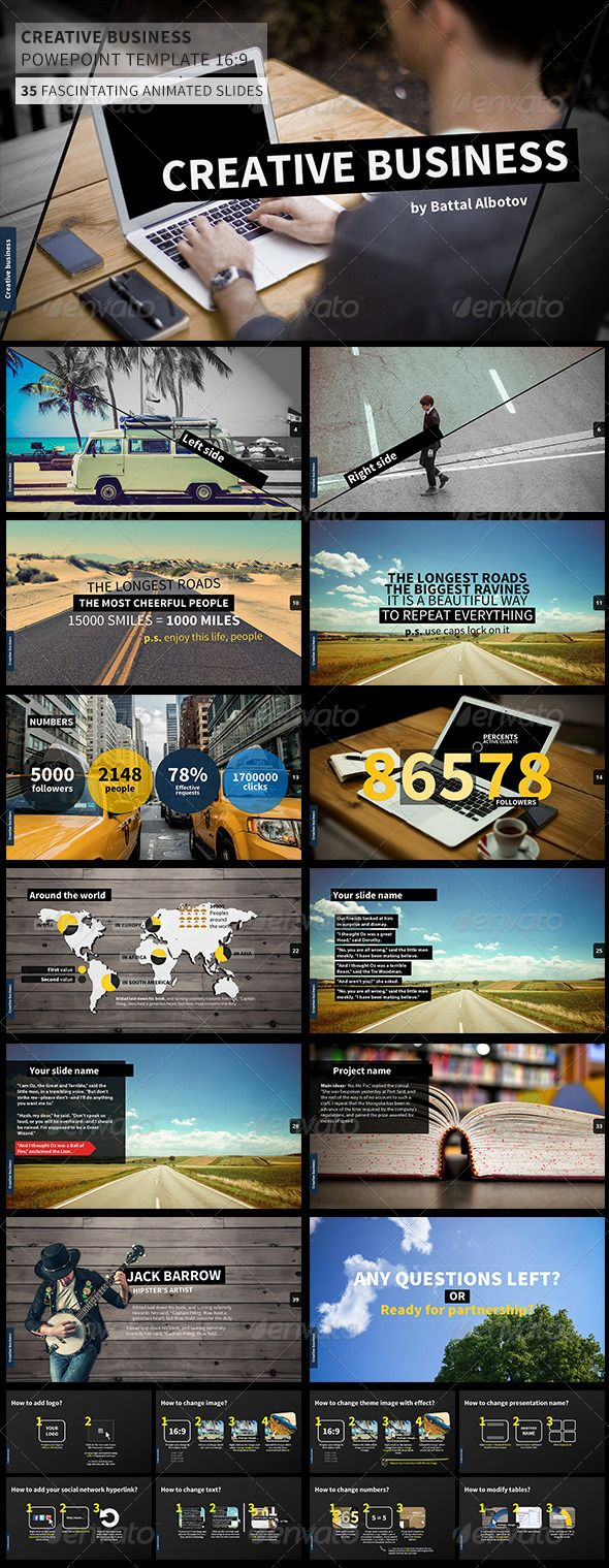 Creative Business Power Point Presentation - Creative Powerpoint Templates