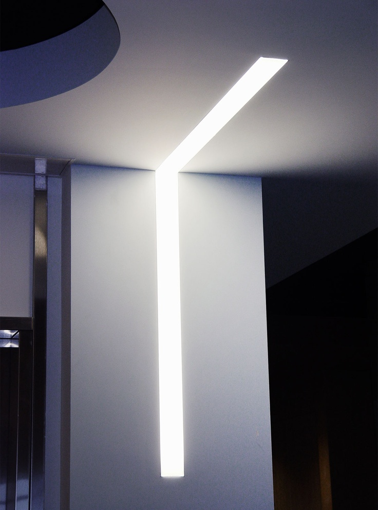 alight L-Shape for Sony Restrooms Similar fixture can be found at .finelite & 26 best // ECA Linear Lighting // images on Pinterest ... azcodes.com