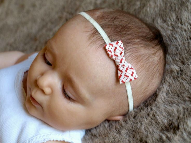 This Little Miggy Stayed Home: DIY: Mini Fabric Bows