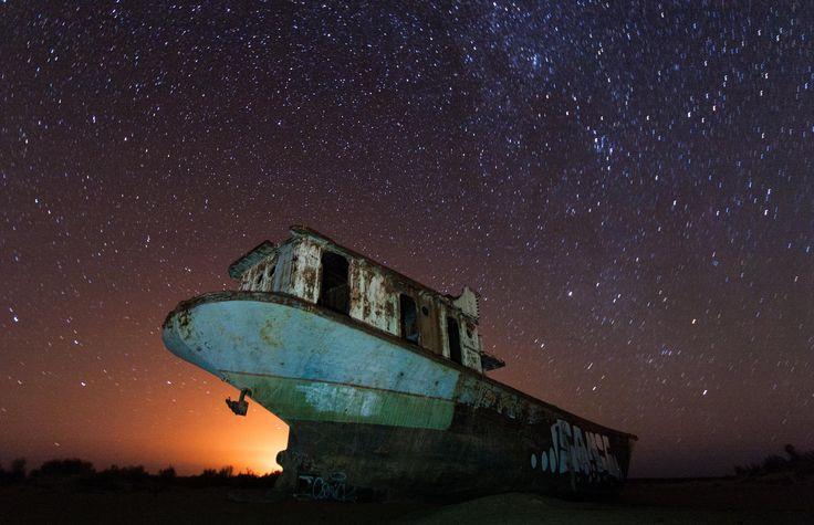 Aralsk Sea by Vitaliy Raskalov on 500px