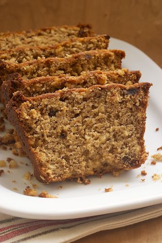 Hazelnut Date Bread is a nutty quick bread with just the right amount of sweetness. Bake or Break