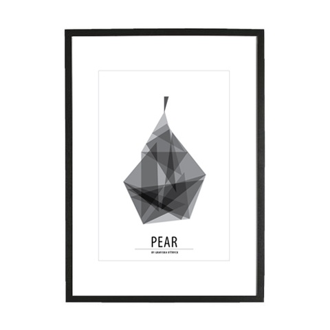 Pear poster, 249 kr (SEK) buy it here: http://adorna.se/products/4812