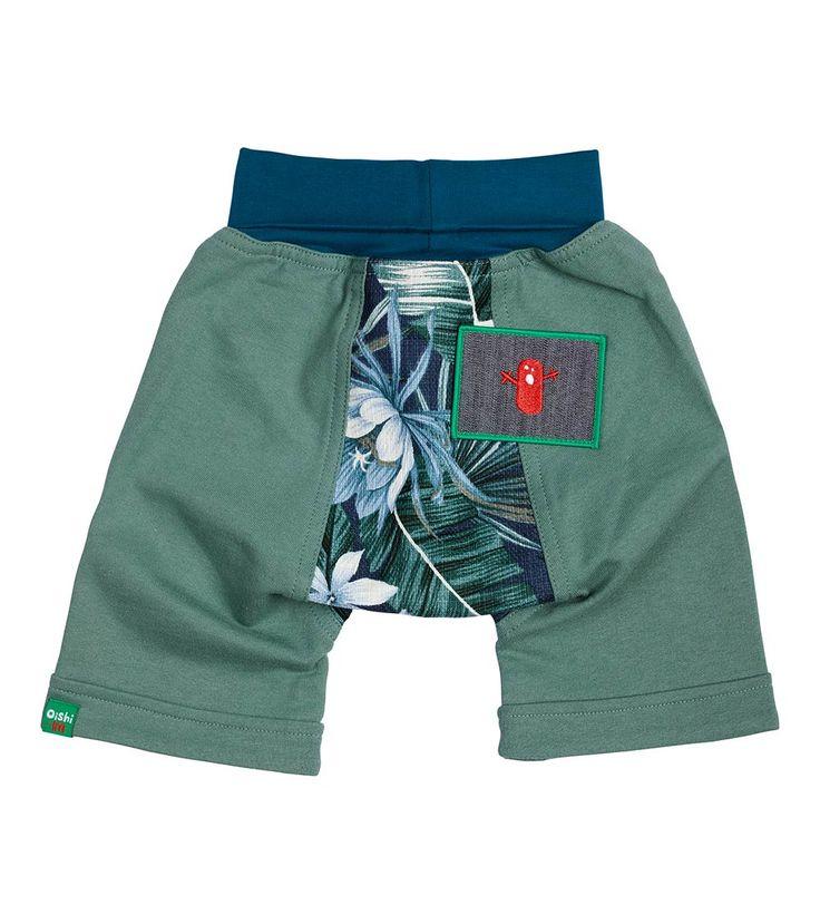 Out On A Limb Short, Oishi-m Clothing for kids, HiSummer  2017, www.oishi-m.com