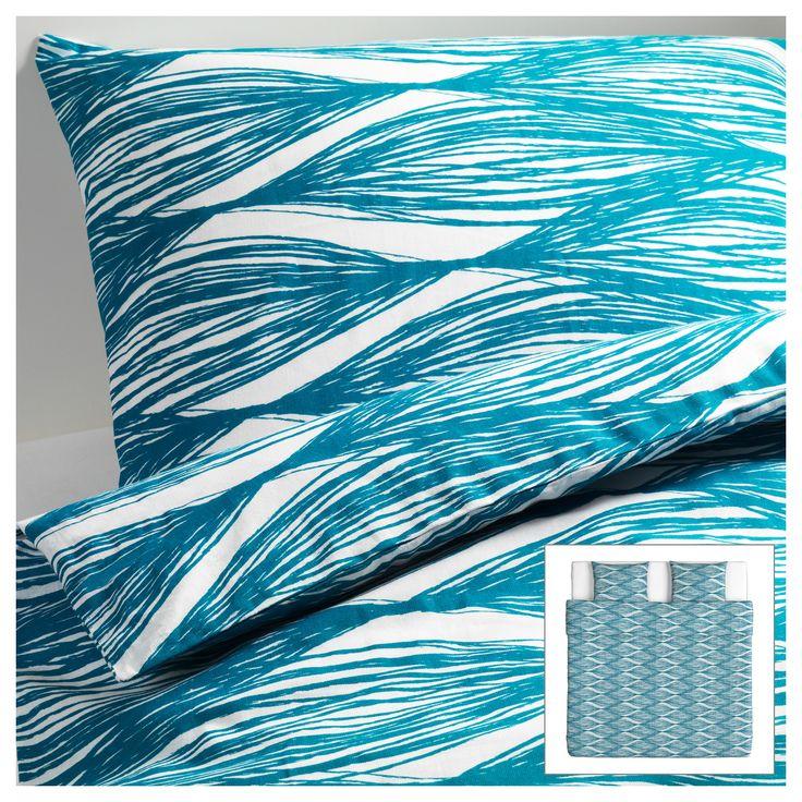 malin blad capa de edred o e 2 fronhas 240x220 50x60 cm. Black Bedroom Furniture Sets. Home Design Ideas