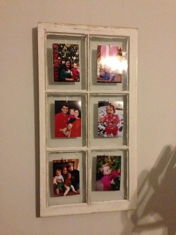 The Adventures of Bit and Button: Window Pane Picture Frame