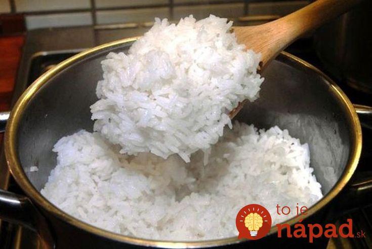 Stará finta na mäkučkú ryžu, ktorá sa nikdy nezlepí: Takto perfektne si vedeli poradiť už naše babičky!